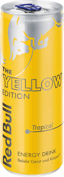 Red Bull Yellow Edition - Tropical